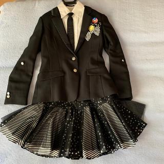 女児 卒業式スーツ