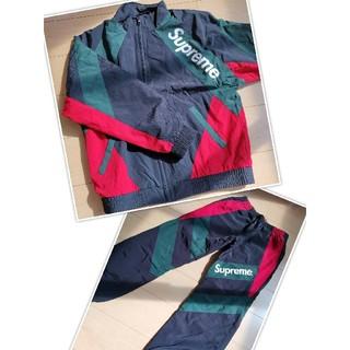 Supreme - Paneled Track Jacket & Pant