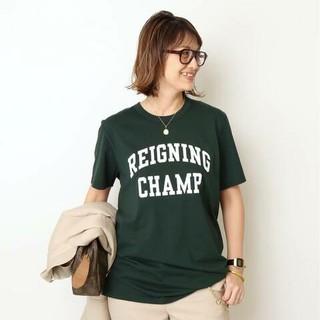 DEUXIEME CLASSE - ドゥーズィエムクラス REIGNING CHAMP ロゴTシャツ