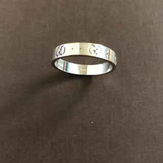 グッチ(Gucci)の20号 ホワイトゴールド GUCCI リング(リング(指輪))