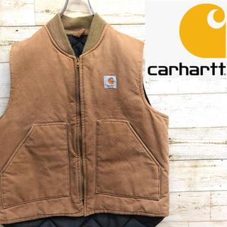 carhartt - *carhartt*カーハート*ダックベスト*中綿ベスト*Lサイズ*