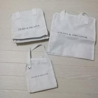 DEAN & DELUCA - グロウ付録 ディーン&デルーカ DEAN&DELUCA保冷バッグ3点セット 白