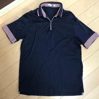 SHIPS - シップス ポロシャツ  カットソー ネイビー Lサイズ