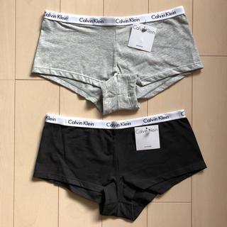 Calvin Klein - 2点セット カルバン・クライン ショーツ S M グレー ブラック パンツ
