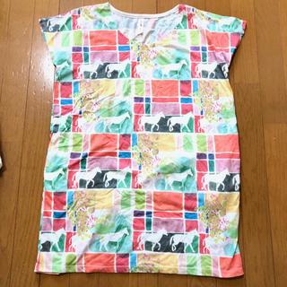 グラニフ(Design Tshirts Store graniph)のグラニフ Tシャツチュニック(Tシャツ(半袖/袖なし))