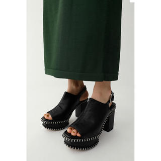 moussy - WOODEN SOLE SABOT
