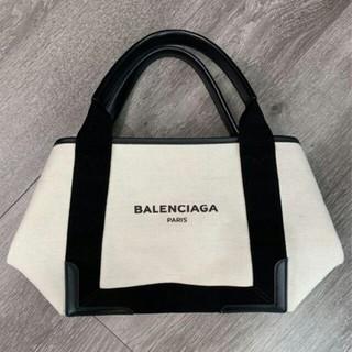 Balenciaga - バレンシアガ ネイビーカバ S トートバッグ