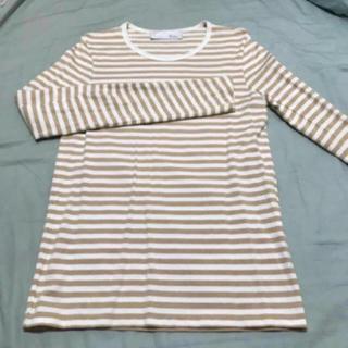 エディション(Edition)のEdition ボーダーロンT(Tシャツ/カットソー(七分/長袖))