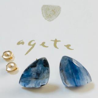 agete - アガット  k10  ピアス