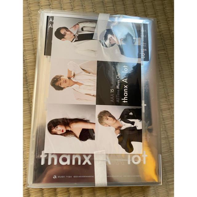 AAA(トリプルエー)のAAA 15th Anniversary All Time Music Clip エンタメ/ホビーのDVD/ブルーレイ(ミュージック)の商品写真