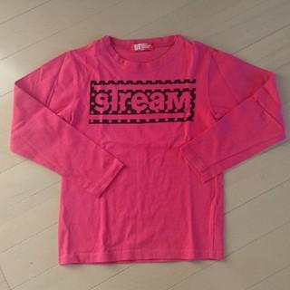 デビロック(DEVILOCK)のデビロック★DEVILOCKロンTシャツ長袖★130男女兼用ピンク(Tシャツ/カットソー)