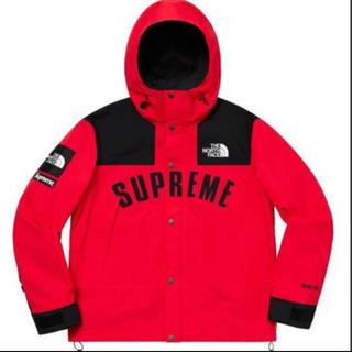 Supreme - supreme  northface マウンテンパーカー 赤 Mサイズ