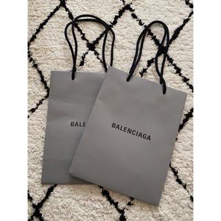 Balenciaga - バレンシアガ☆BALENCIAGAショップバック2枚セット☆新品!