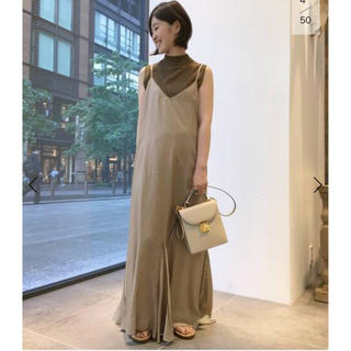 L'Appartement DEUXIEME CLASSE - L'Appartement ◇Wash Maxi ワンピース新品キャメルA完売