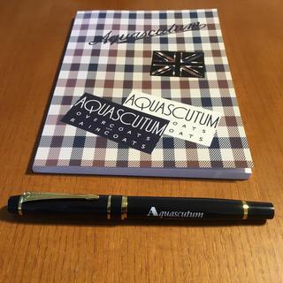 アクアスキュータム(AQUA SCUTUM)のaquascutum  万年筆セット(ペン/マーカー)