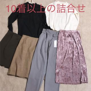 ユニクロ(UNIQLO)の小柄さん必見 まとめ売り 6着+おまけ1着(シャツ/ブラウス(長袖/七分))