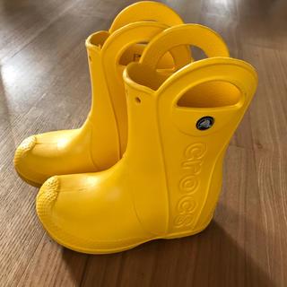 クロックス(crocs)のクロックス 長靴 レインブーツ キッズ ジュニア 子供 雨 通園 通学(長靴/レインシューズ)