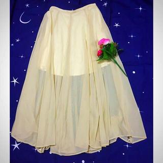 トランテアンソンドゥモード(31 Sons de mode)のチュールロングスカート(ロングスカート)