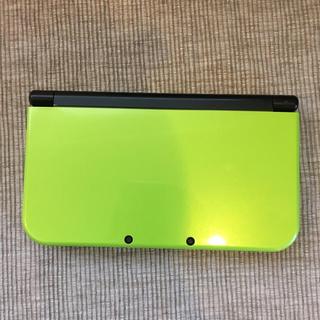 ニンテンドー3DS(ニンテンドー3DS)のNewニンテンドー 3DS LL ライムグリーン本体(家庭用ゲームソフト)