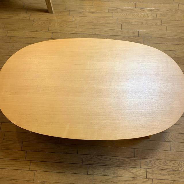 MUJI (無印良品)(ムジルシリョウヒン)の無印良品 こたつテーブル インテリア/住まい/日用品の机/テーブル(こたつ)の商品写真