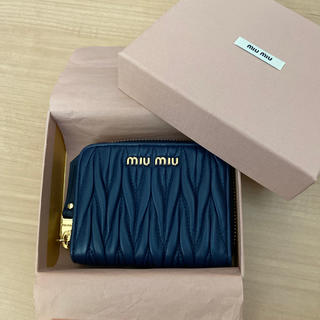 miumiu - MIUMIU コンパクトコインケース ウォレット マテラッセ