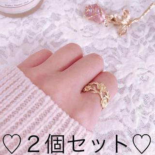 薔薇の指輪 アンティーク