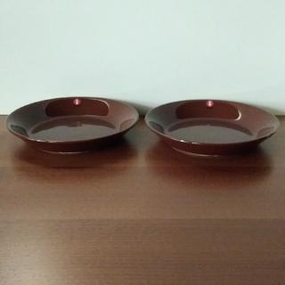 イッタラ(iittala)のIittala TEEMA イッタラ ティーマ 小皿 ブラウン 2枚 /未使用(食器)