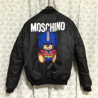 モスキーノ(MOSCHINO)の【最終価格】 MOSCHINO トランスフォーマー コラボ MA-1 ジャケット(ブルゾン)