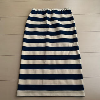 アウラアイラ(AULA AILA)の☆コウ様専用☆ AULA AILA ボーダースカート(ひざ丈スカート)