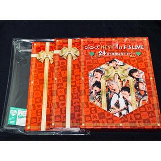 ジャニーズWEST - ジャニーズWEST 24から感謝届けます 初回盤 DVD