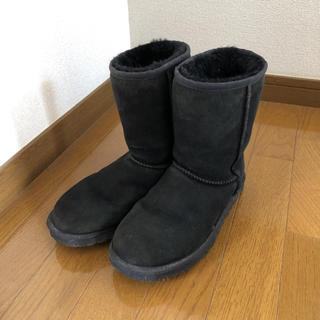 アグ(UGG)のUGG ムートンブーツ ブラック(ブーツ)