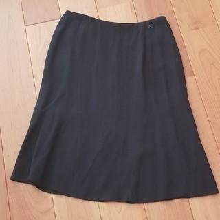 CHANEL - シャネル シルク素材スカート M