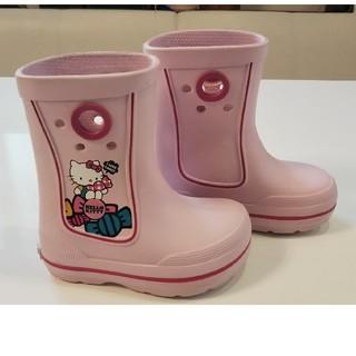 クロックス(crocs)のクロックス  キティ レインブーツ(長靴/レインシューズ)