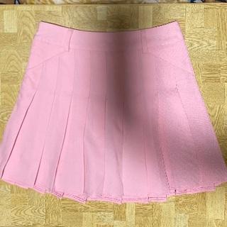WEGO - ミニスカート ピンク インナーパンツ付き