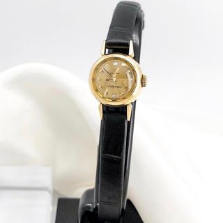 OMEGA - 【OH済/仕上済】オメガ レディマティック K18 ダイヤ レディース 腕時計