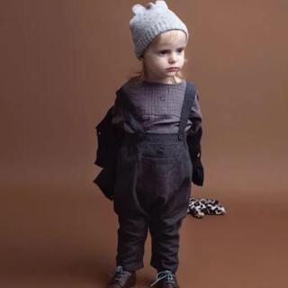 キャラメルベビー&チャイルド(Caramel baby&child )の【新品・未使用】トコトヴィンテージ  サロペット(ロンパース)