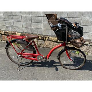 アサヒ(アサヒ)の子供乗せ自転車 petit maman プチママン 3人乗り(自転車)