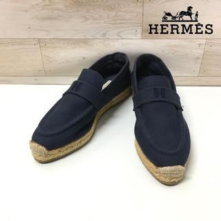 Hermes - 【HERMES 】エスパドリーユ (36) スリッポン フラットシューズ