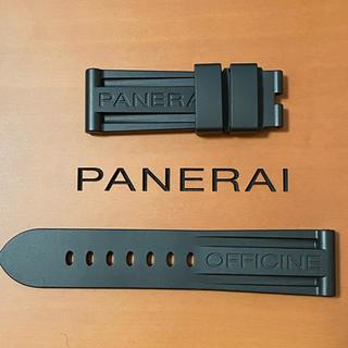 パネライ(PANERAI)の【新品未使用】黒ラバーベルト PANERAI LUMINOR 44mm の同梱品(ラバーベルト)