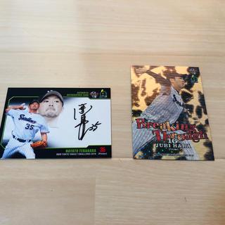 トウキョウヤクルトスワローズ(東京ヤクルトスワローズ)のヤクルト 野球カード 直筆サイン BBM 2019(その他)