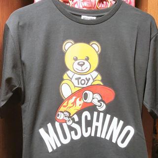 モスキーノ(MOSCHINO)のモスキーノ新作テディベアTシャツ(Tシャツ(半袖/袖なし))
