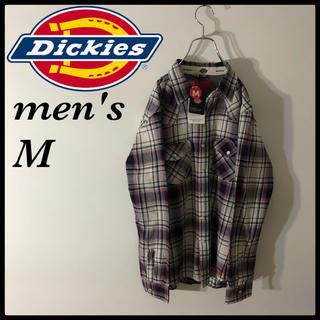 ディッキーズ(Dickies)のディッキーズ  Dickies 新品タグ ダブルポケット チェックシャツ(シャツ)