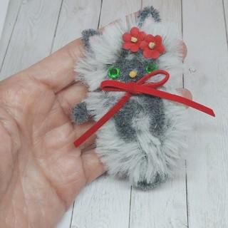 編みぐるみ ネコちゃん