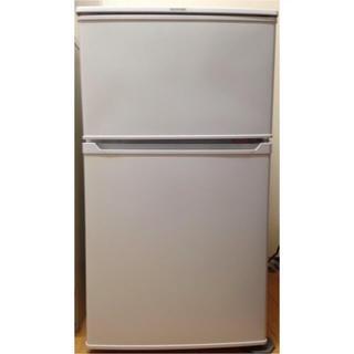 アイリスオーヤマ(アイリスオーヤマ)のIRIS OHYAMA 省エネ 2ドア 冷凍冷蔵庫 90L IRR-A09T(冷蔵庫)