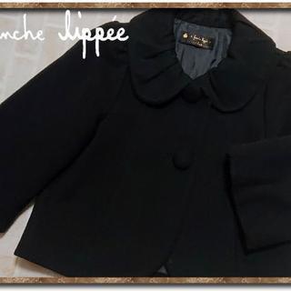 フランシュリッペ(franche lippee)のフランシュリッペ ショート丈ウールコート 黒(その他)