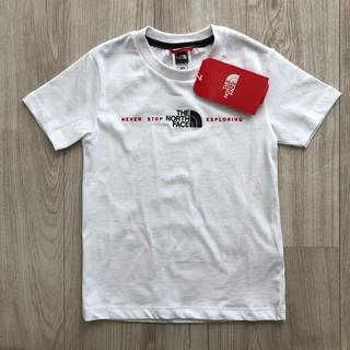 THE NORTH FACE - 【海外限定】新作 TNF ノースフェイス キッズ 3Dロゴ Tシャツ 120cm