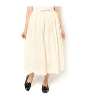 SM2 - SM2 サマンサモスモス 裾レーススカラップギャザースカート