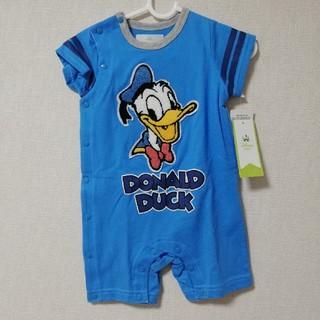 Disney - 【新品・タグ付】ドナルド 半袖ロンパース 70cm
