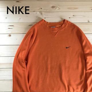 NIKE - NIKE ナイキ スウェット オレンジ L