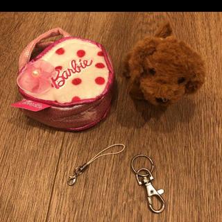 バービー(Barbie)のバービー♡犬 ワンコ ストラップ チャーム(ぬいぐるみ)